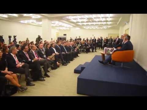 Albanian Prime Minister Edi Rama promotes his book in Belgrade