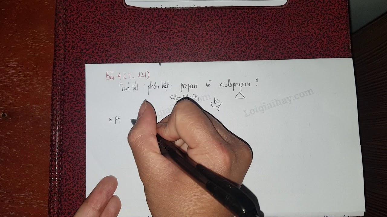 Giải bài 4 trang 121 SGK Hóa học 11