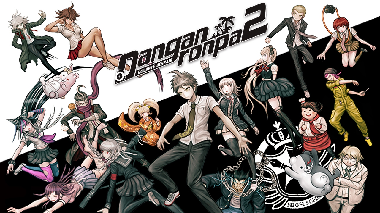 danganronpa 2 anime