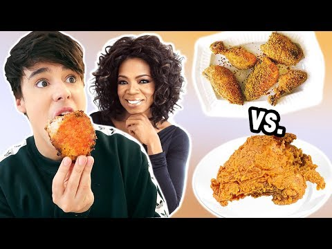 i only made OPRAH WINFREY recipes for a day !!!