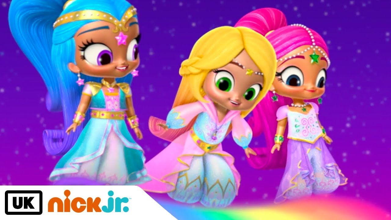 Shimmer And Shine Rainbows To The Rescue Nick Jr Uk Youtube