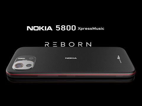 Nokia 5800 XpressMusic (2021) Re-design Official Introduction