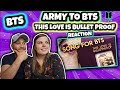 This Love Is Bulletproof 💜 a song from ARMY to BTS [2019 FESTA] Reaction