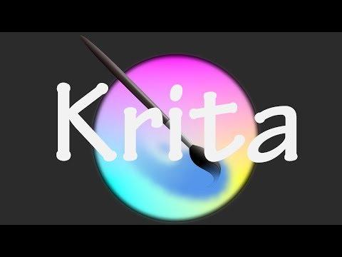 Krita. Основные функции и настройки