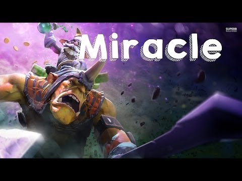 Dota 2 - Alliance Vs OG Miracle- Pro Alchemist Gameplay