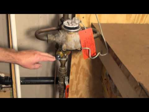 How to Find Your Water Shut-Off Valve & Use It
