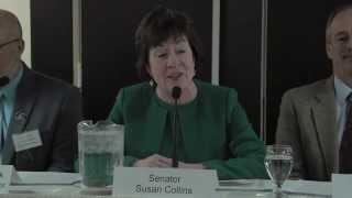Senator Susan Collins discussses climate change and health