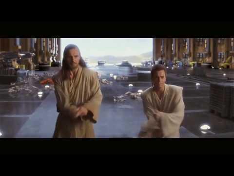 Phantom Menace - Obi Wan Qui Gon vs  Darth Maul