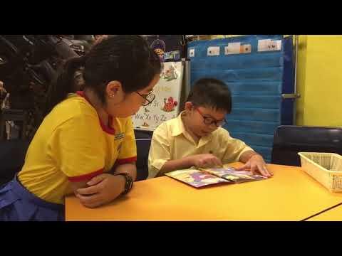 Fairfield Methodist Primary School's Buddy Reading Programme