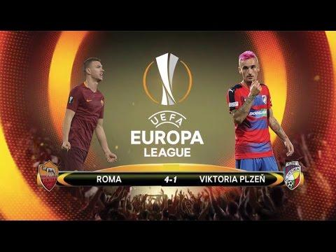 Roma VS Viktoria Plzen 4-1 - TRIS DZEKO thumbnail