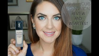 YSL All Hours Foundation | Review and Wear Test| In The Land Of Jen