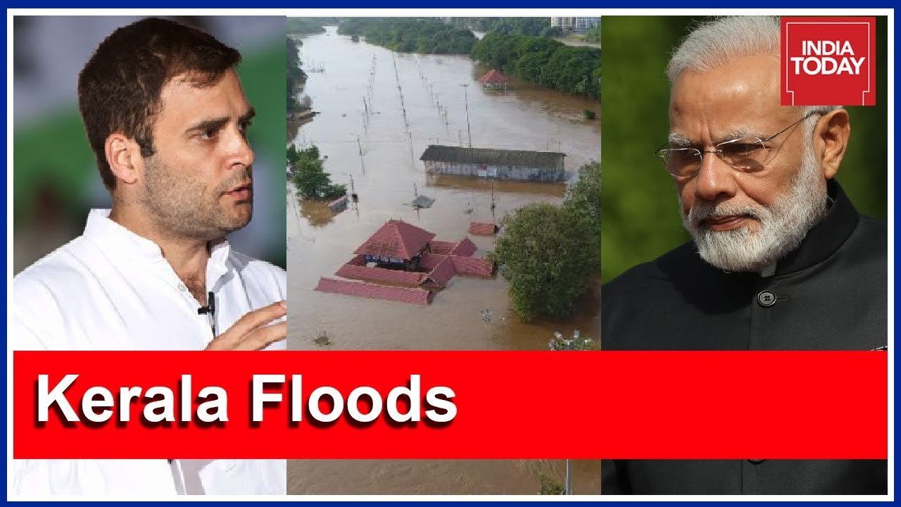 Rahul Gandhi Appeals PM Modi To Declare Kerala Floods A National Disaster | #KeralaSOS