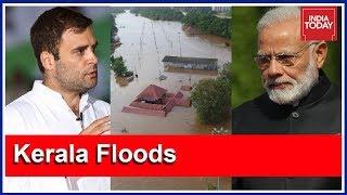 Rahul Gandhi Appeals PM Modi To Declare Kerala Floods A National Disaster | #KeralaSOS