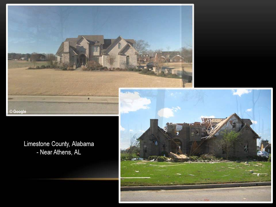 NWS Huntsville: April 27th Tornado Damage - Before and ...