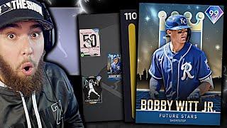 MADNESS! *99* FUTURE STAR BOBBY WITT JR DEBUT! MLB THE SHOW 21 DIAMOND DYNASTY!