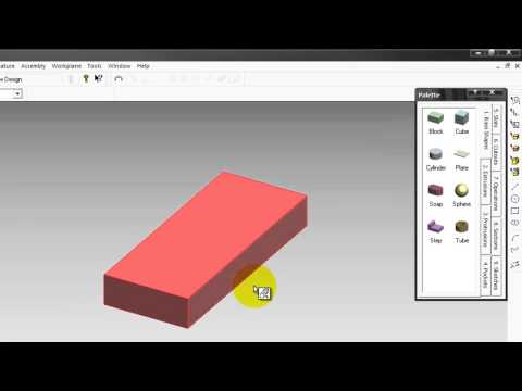 ProDesktop Lesson 19 การประกบชิ้นงาน