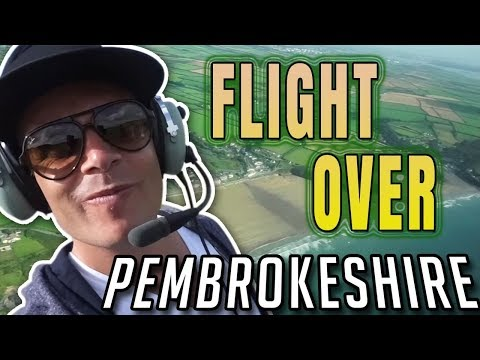 Pembrokeshire Coast National Park - Pembrokeshire Wales - Scenic Flight