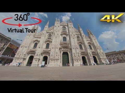 Italy - Lombardy - Duomo di Milano - 360° Camera - Video 4K - Virtual Reality