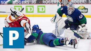 Jonah Gadjovich on Canucks 6-5 (OT) loss to the Calgary Flames | The Province