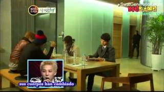 Big Bang Parodia Secret Garden