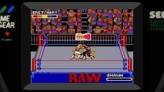 WWF Raw Game Gear