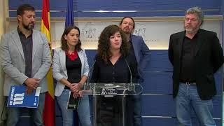 Sofía Castañón. Presentación de la Proposición de Ley para la reforma de la Ley de Montes