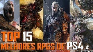TOP 15 MELHORES JOGOS DE RPG PARA PS4 ATÉ O MOMENTO