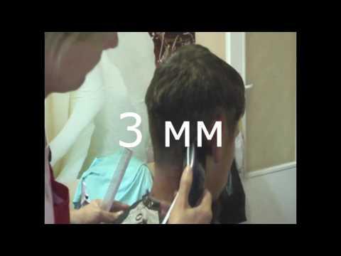 Как пользоваться машинкой для стрижки волос в домашних условиях видео