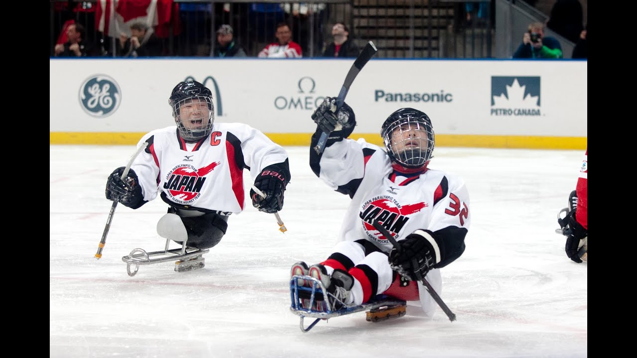 Japan v Korea - ice sledge hockey - Vancouver 2010 ...