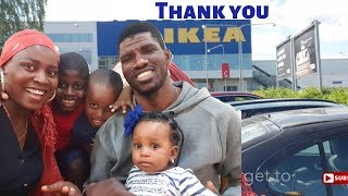 Ikea gave us FREE STUFF | A day in the life of A Nigerian family of 5 living Abroad