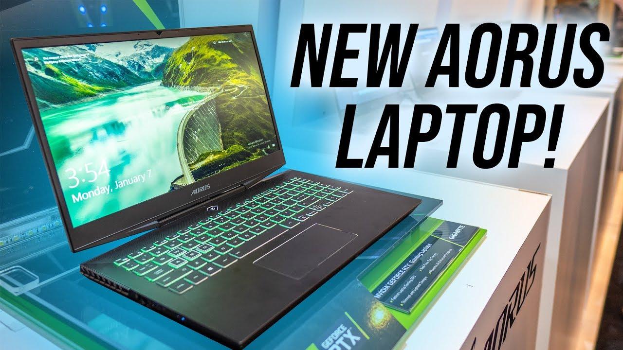Meet The New Aorus 15 RTX Gaming Laptop!
