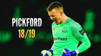 Jordan Pickford ● Saves Compilation ● 2018/19|HD