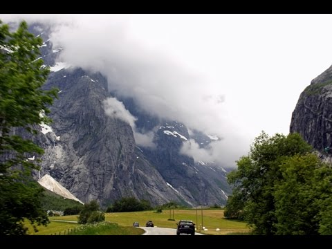 Dash cam Norway - Drive from Elverum to Ålesund Noway - Norway road trip