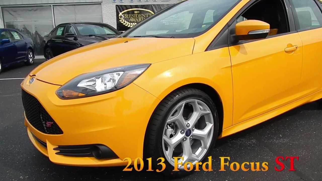 Used Ford Focus St >> Raabd Ford 2013 Focus ST Tangerine Scream at Lima - Delphos Ohio New Used Ford Lincoln Dealer ...