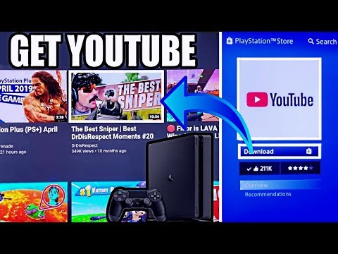 How to get PS4 YOUTUBE APP (2019 Tutorial) (BEST PS4 APPS