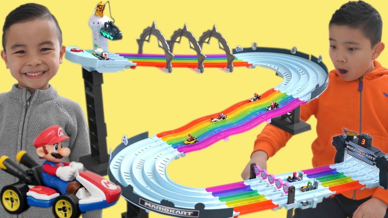 Calvin Kaison Play with Hot Wheels Mario Kart CKN