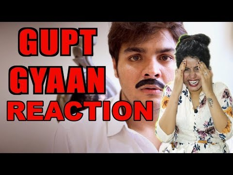 Gupt Gyaan | Ashish Chanchlani | Reaction | Pooja Rathi | CuteBox