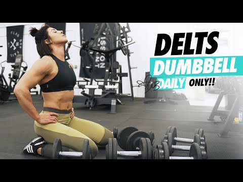 DUMBBELL ONLY | SHOULDER WORKOUT | #DLBDAILY