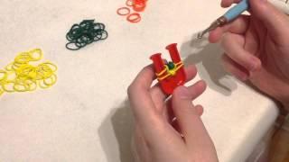 12 видео урок Rainbow loom