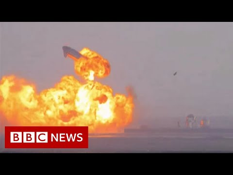 SpaceX's Starship rocket explodes - BBC …