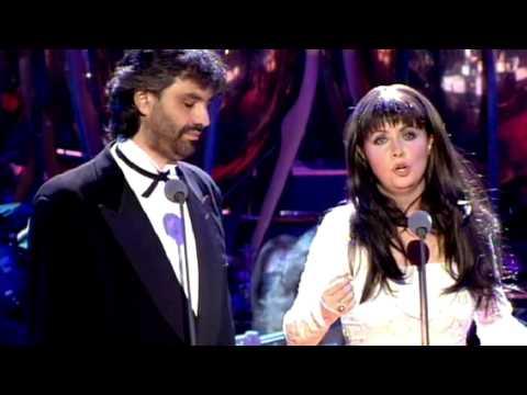 Sarah Brightman Andrea Bocelli -1997 Por ti volare.