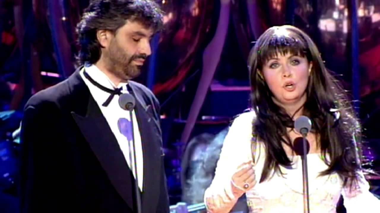 Sarah brightman andrea bocelli 1997 por ti volare youtube for Porte volare