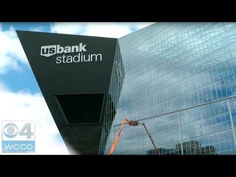 U.S. Bank Stadium's Doors Unlike Any Others