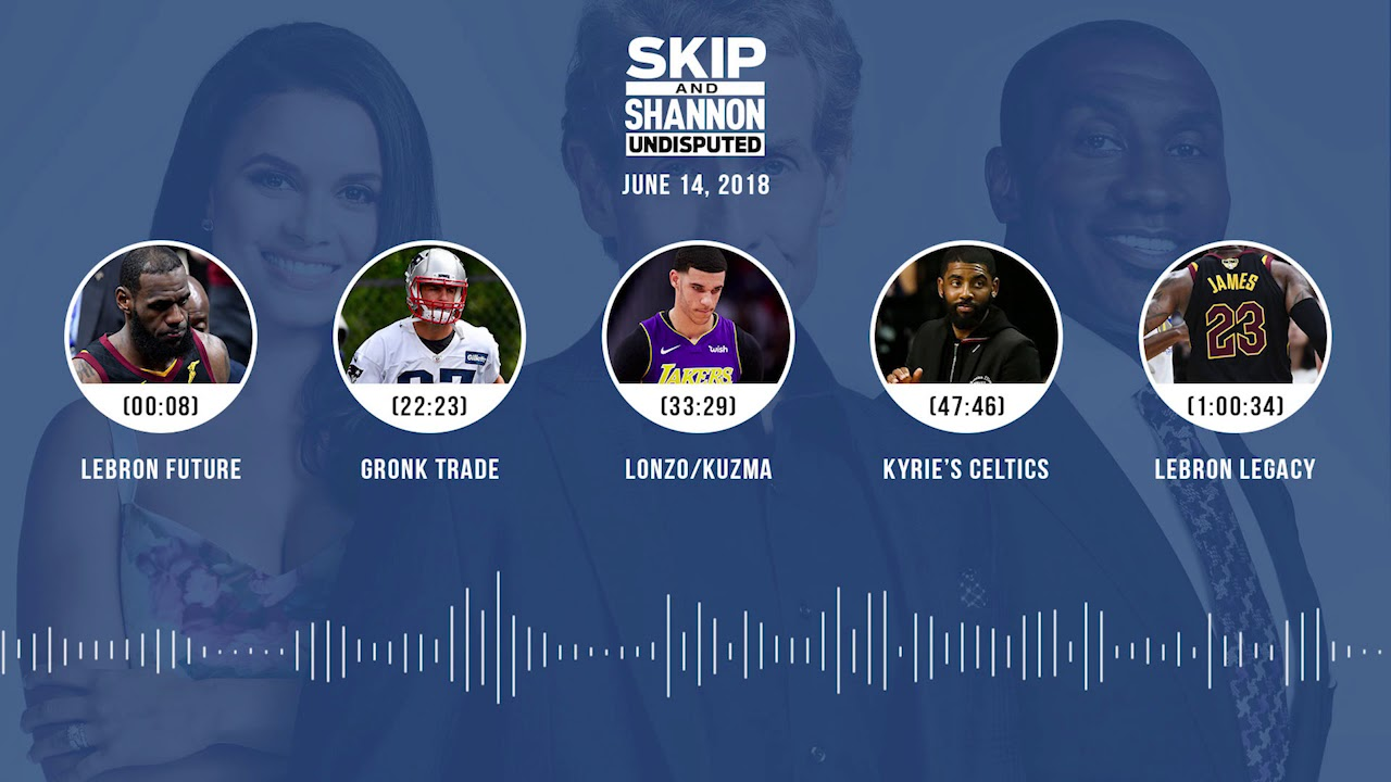 UNDISPUTED Audio Podcast (6.14.18) with Skip Bayless, Shannon Sharpe, Joy Taylor | UNDISPUTED
