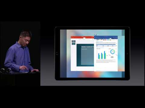Microsoft Office Demo on iPad Pro