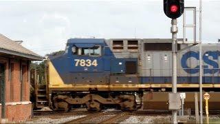 Amtrak Train Near Misses CSX Train At Interlocking