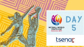 LIVE! Netball World Youth Cup 2017 | Day Five thumbnail