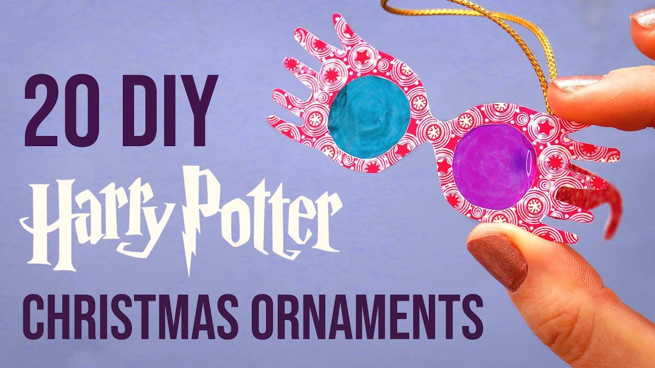 20 More DIY Harry Potter Christmas Ornaments