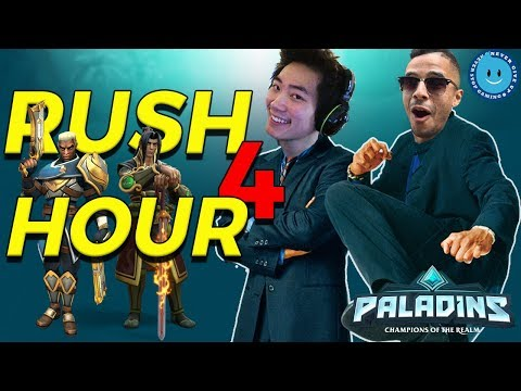 RUSH HOUR 4! RAYNDAY AND SUPABOUNCE PLAY ZHIN AND NEW LEX! | Paladins PTS OB998078