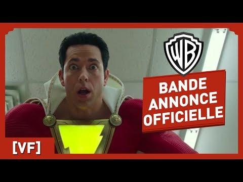 Shazam ! - Bande Annonce Officielle Comic-Con (VF) - Zachary Levi